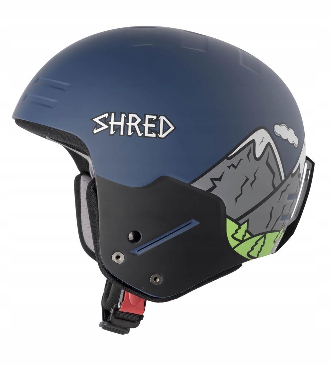 Kaski narciarskie Shred Basher Noshock Needmoresno - 7672694033 ... b43cc6f80ec