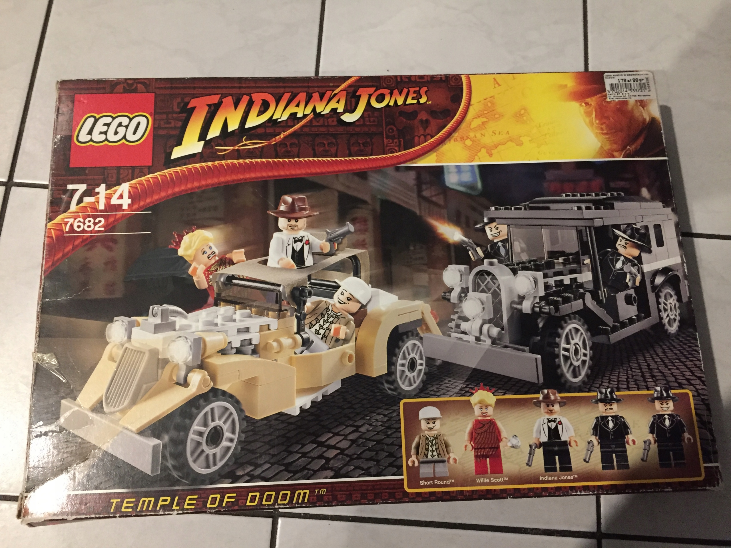 Klocki Lego Indiana Jones 7682 7689220211 Oficjalne Archiwum Allegro