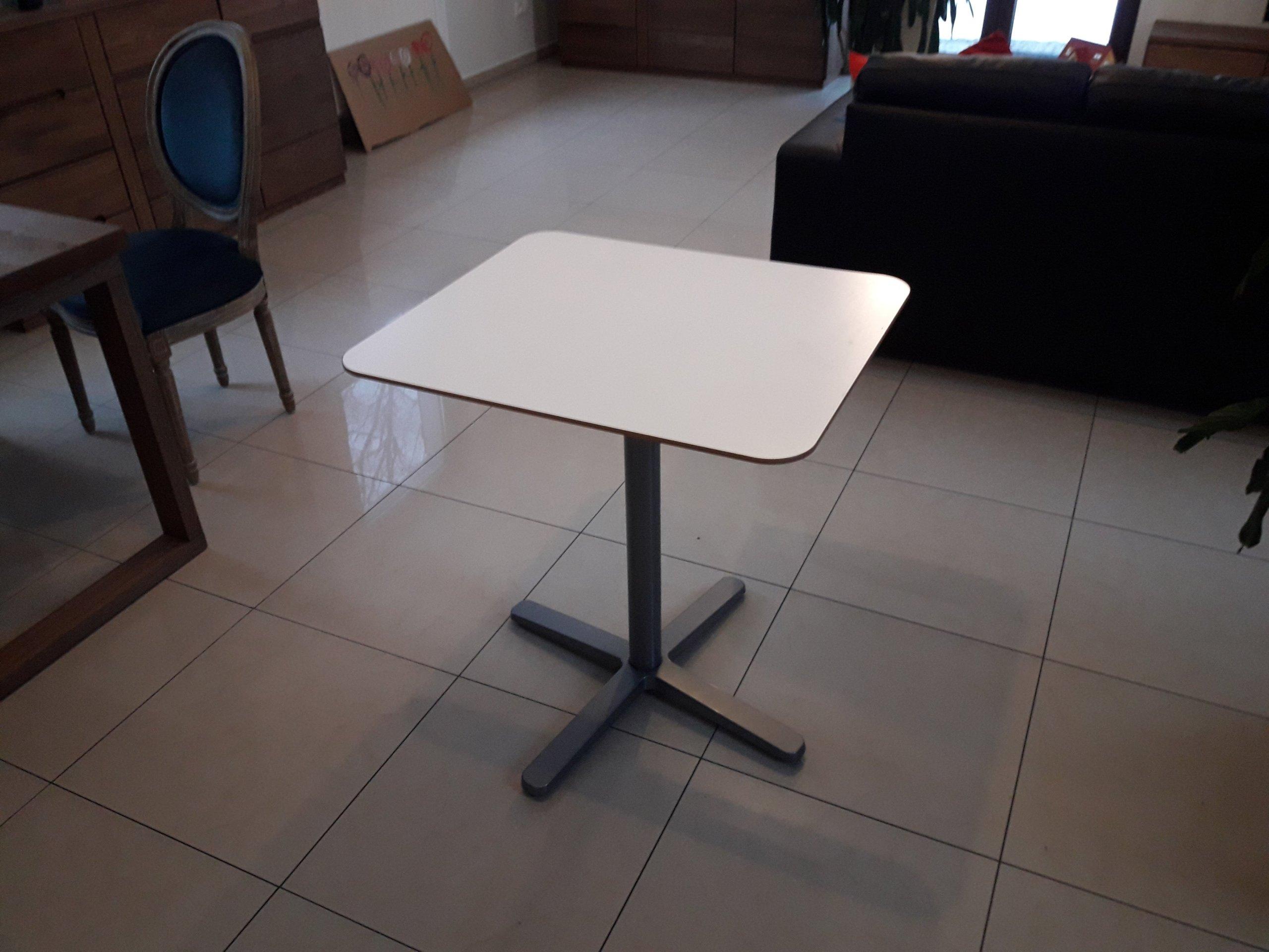 Stolik Kuchenny Kawiarniany Ikea Na 1 Noga Biały