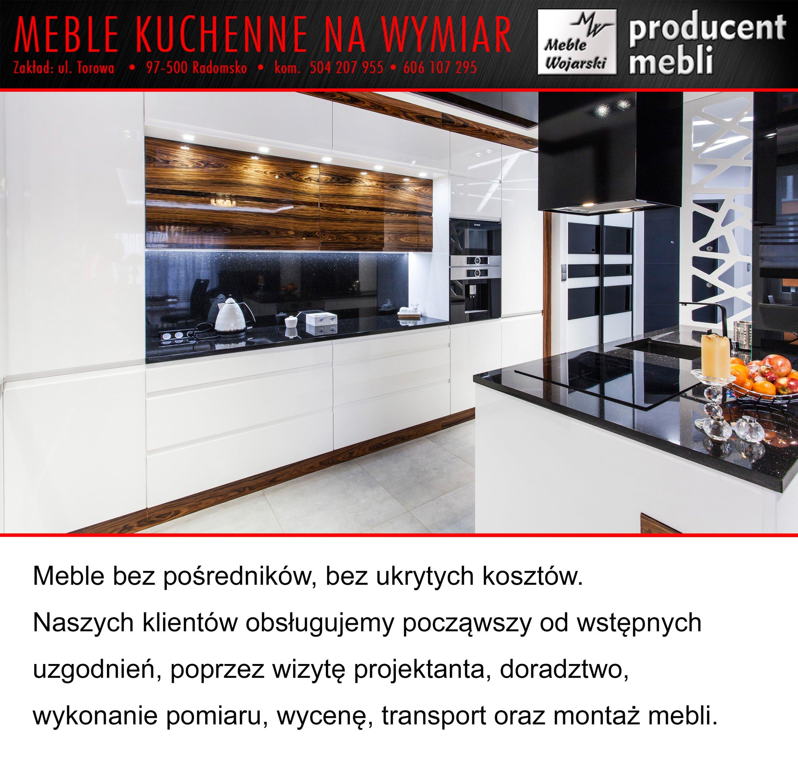 Kuchnia Na Wymiar Garderoba Szafy Przesuwne 7257209339