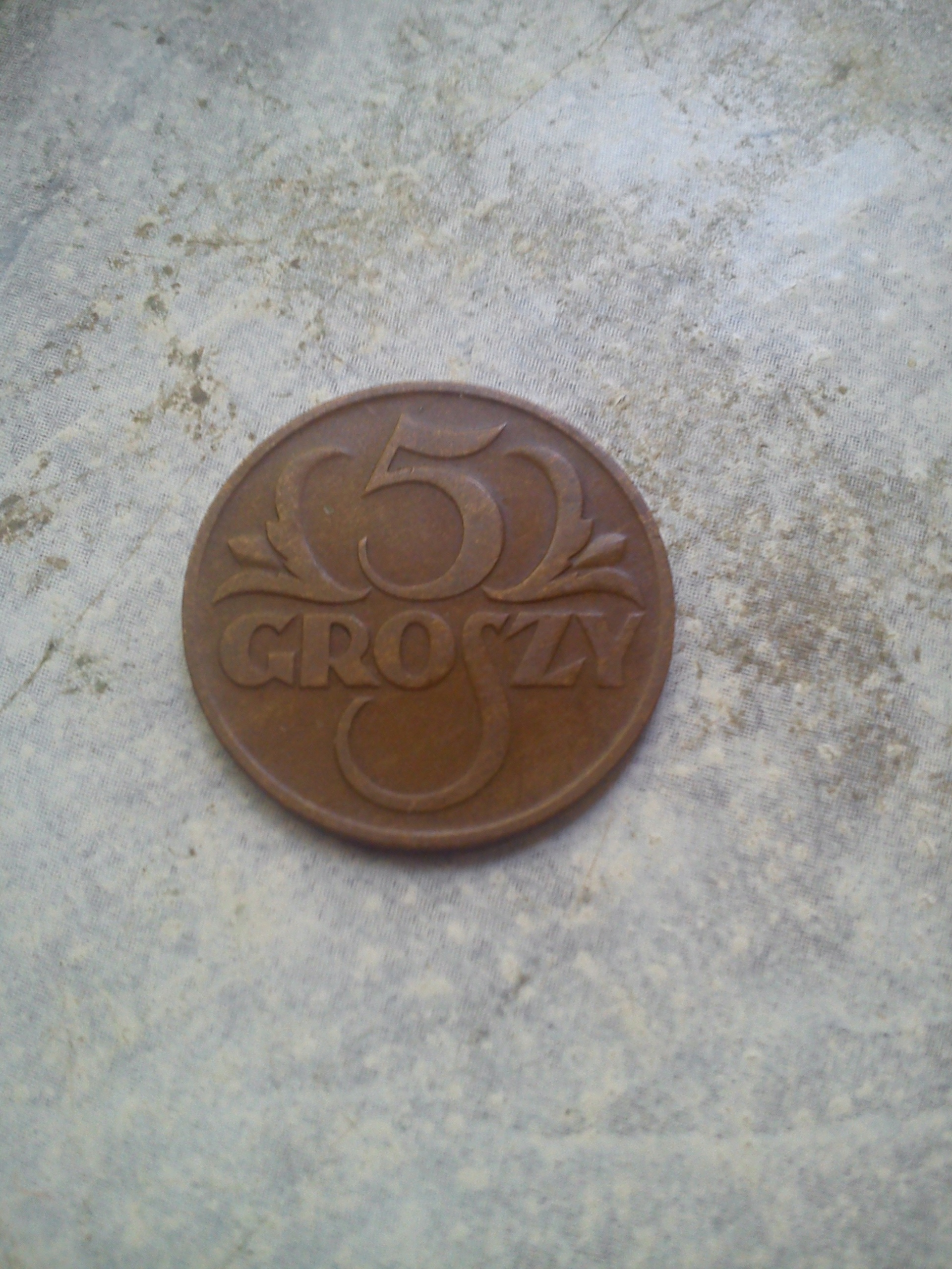 5 groszy 1934r