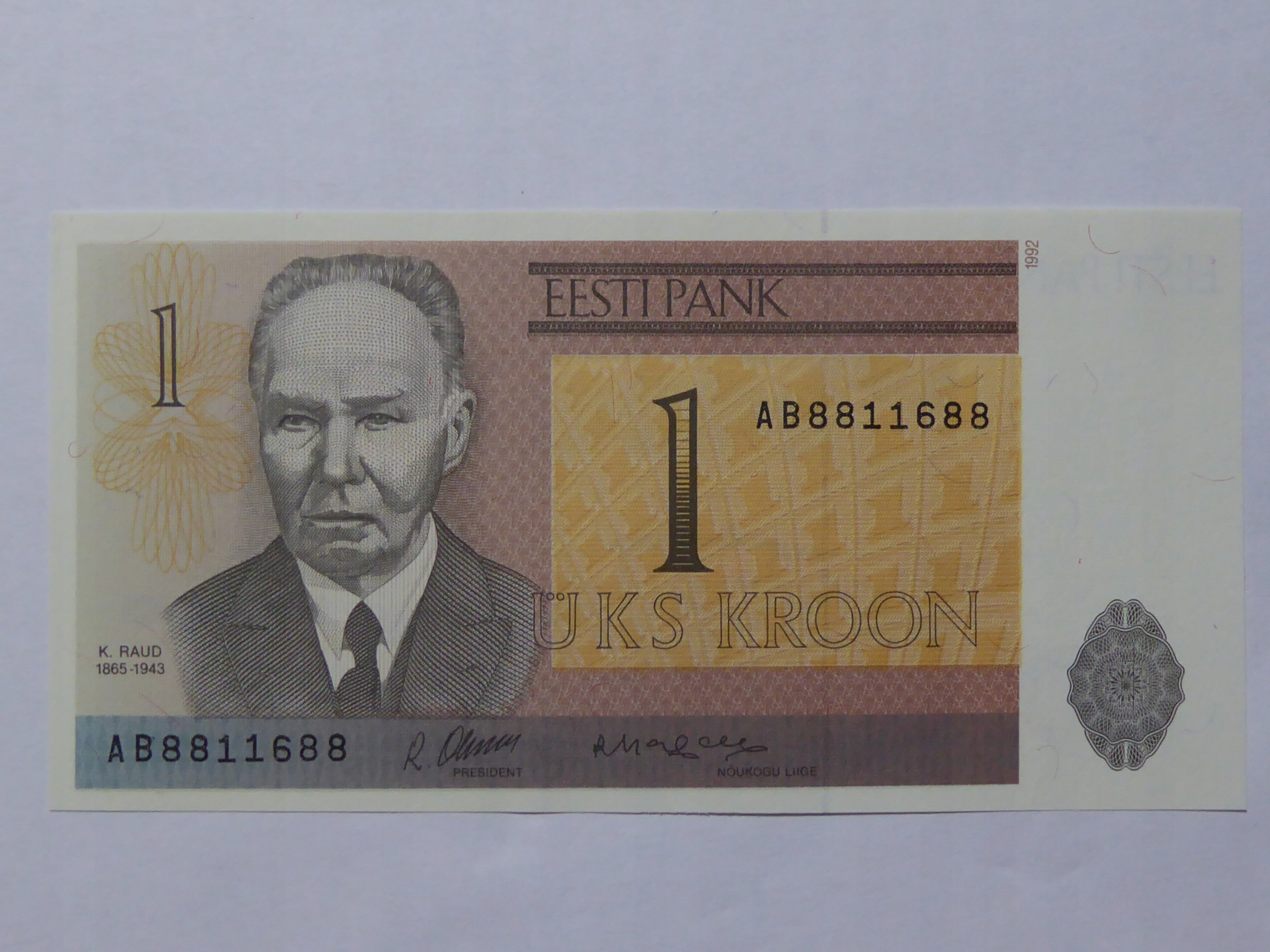 1 Kroon Estonia - 162