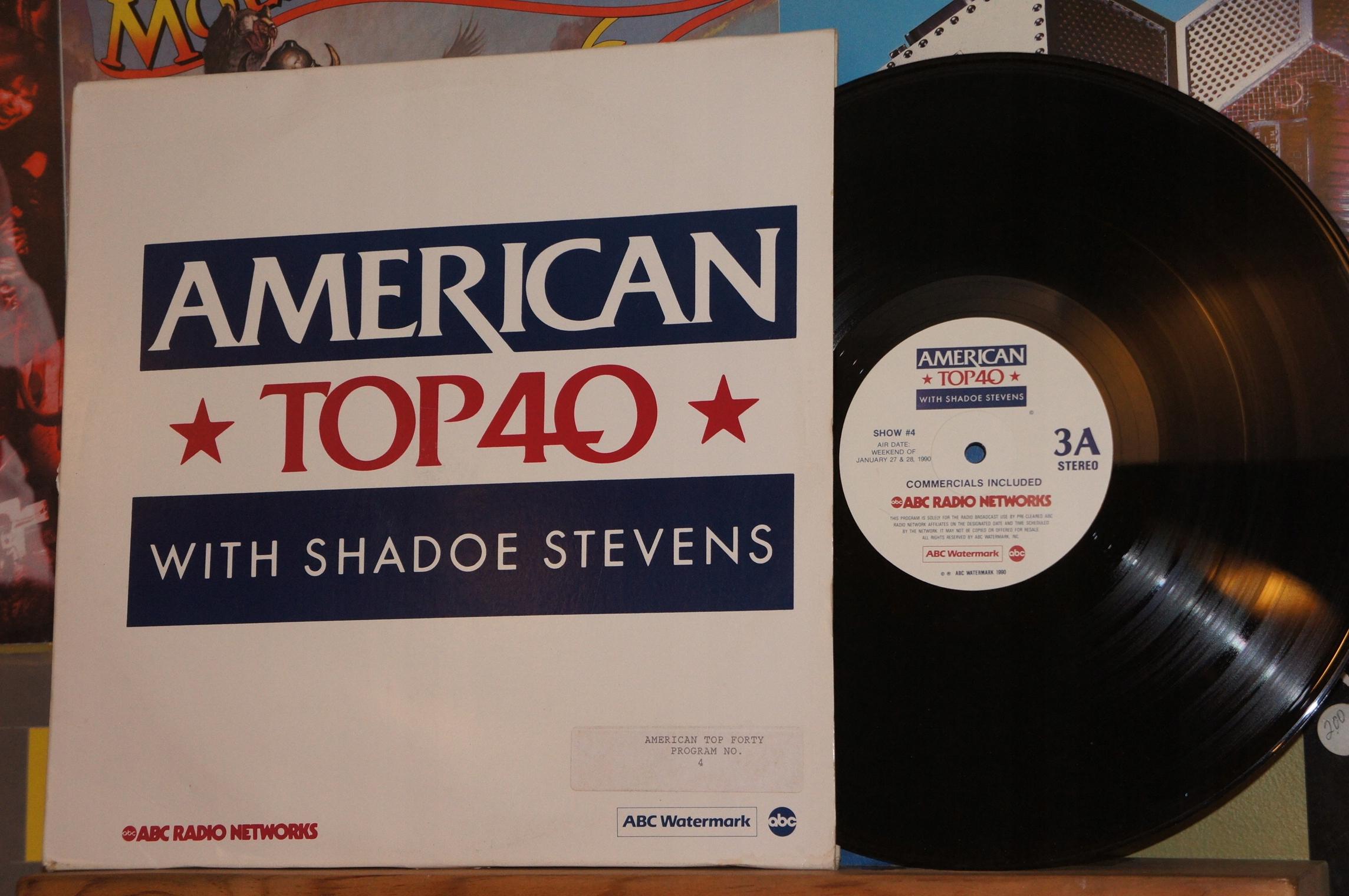 O32  VARIOUS AMERICAN TOP 40 WITH SHADOE STEVENS