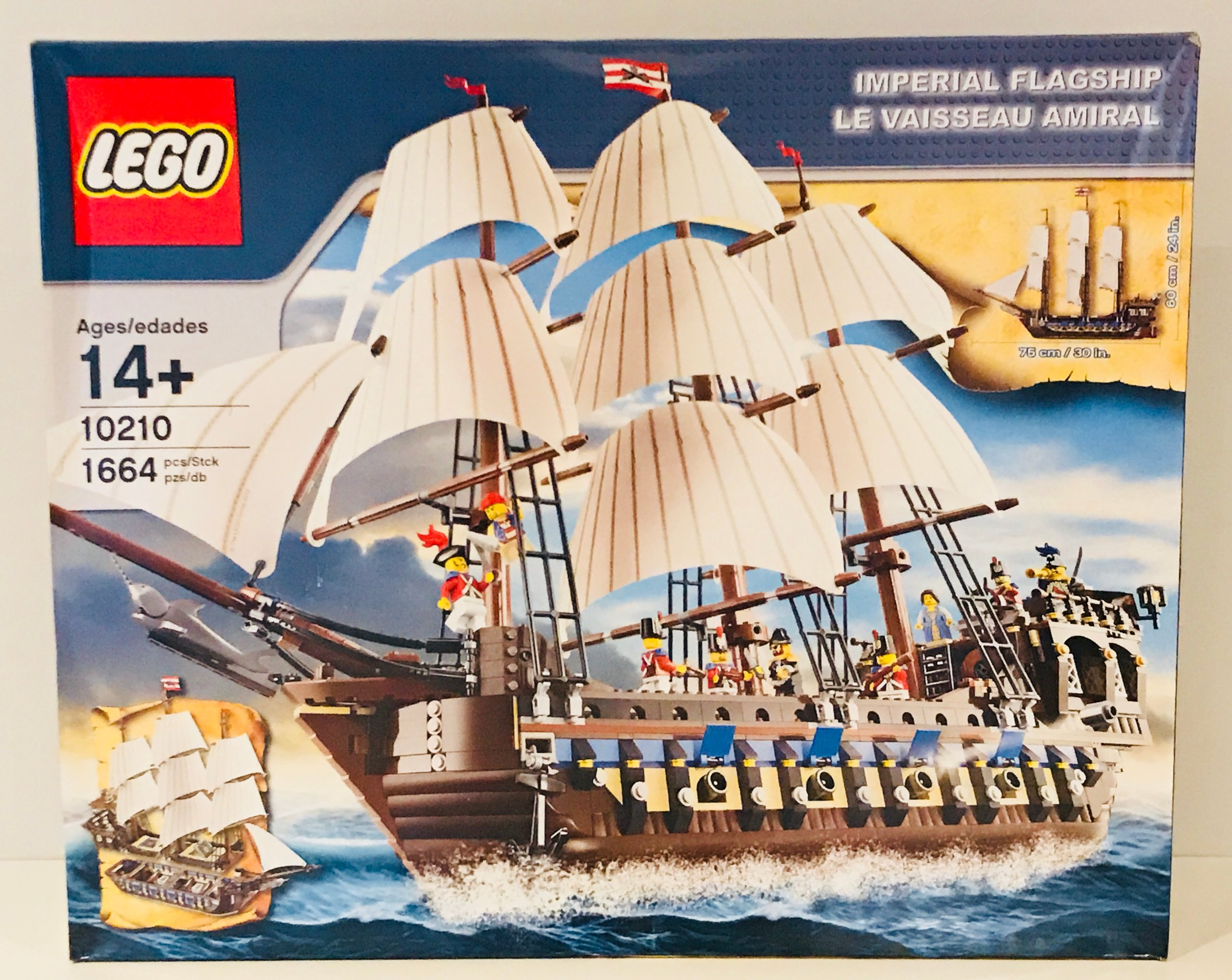 lego 10210 imperial flagship unikat piraci 7071016178 oficjalne archiwum allegro. Black Bedroom Furniture Sets. Home Design Ideas
