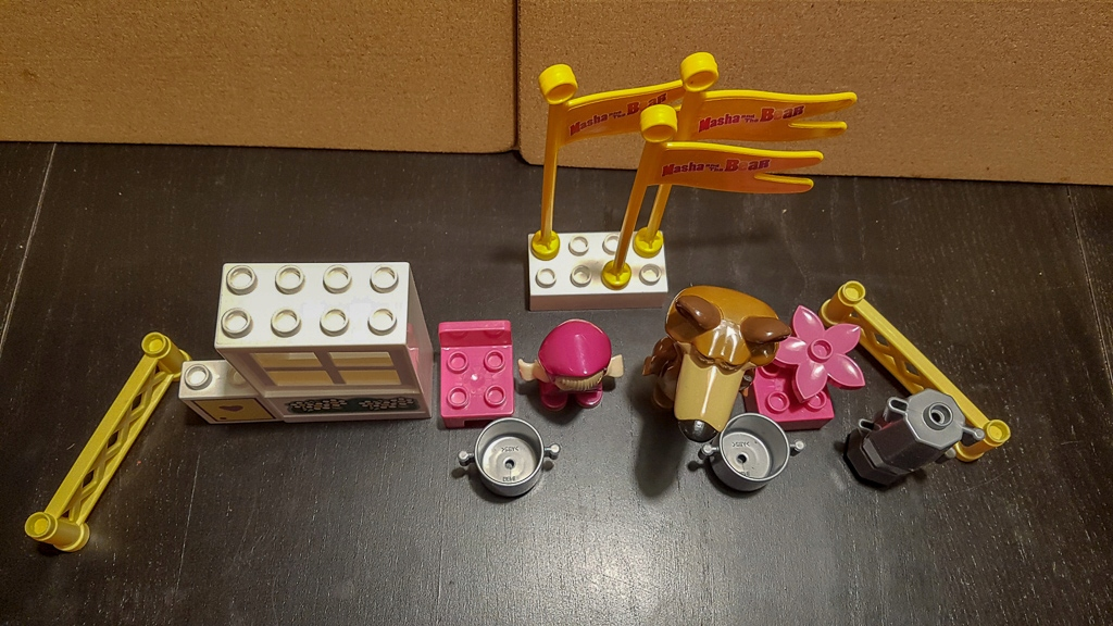 Lego Duplo Zestaw Klocki Masza I Niedźwiedź 7679115766 Oficjalne