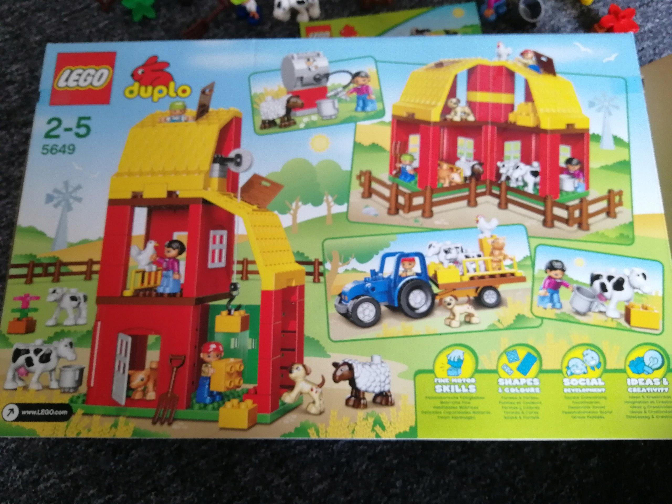Lego Duplo Duza Farma 5649