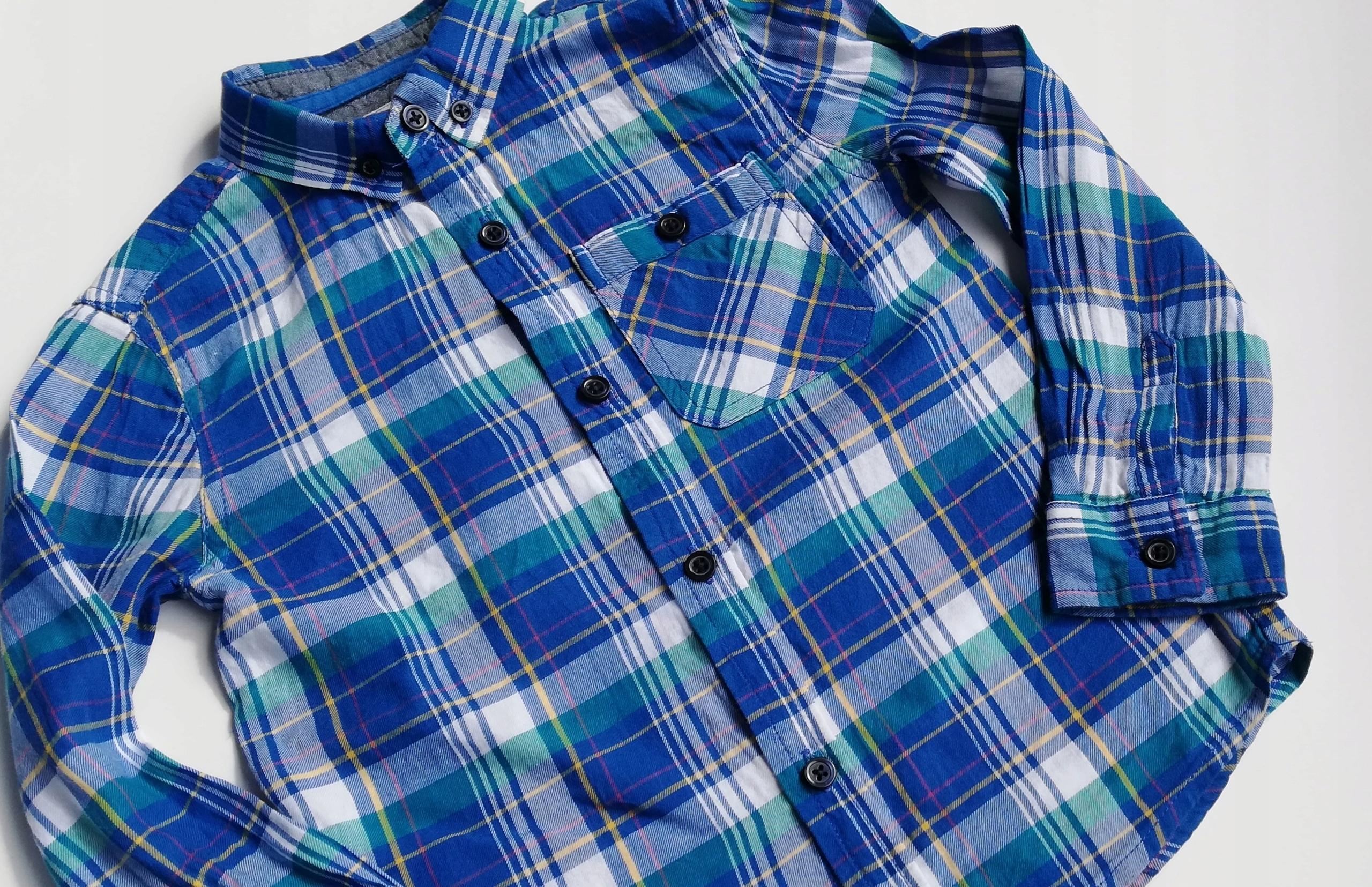 0083138c5 REBEL koszula w kratę długi rękaw 116 - 7545110804 - oficjalne ...