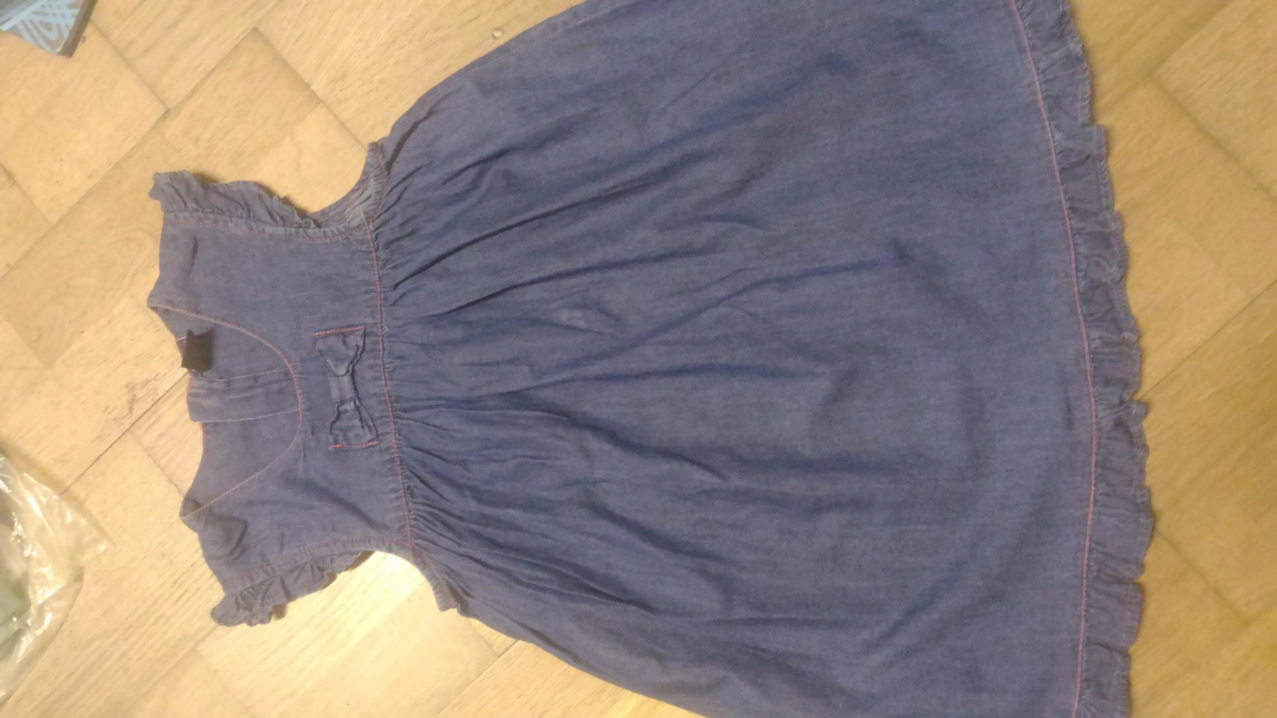 608ec33d9d Sukienka Jeansowa Reserved 110 Falbanki 7664051738 Oficjalne