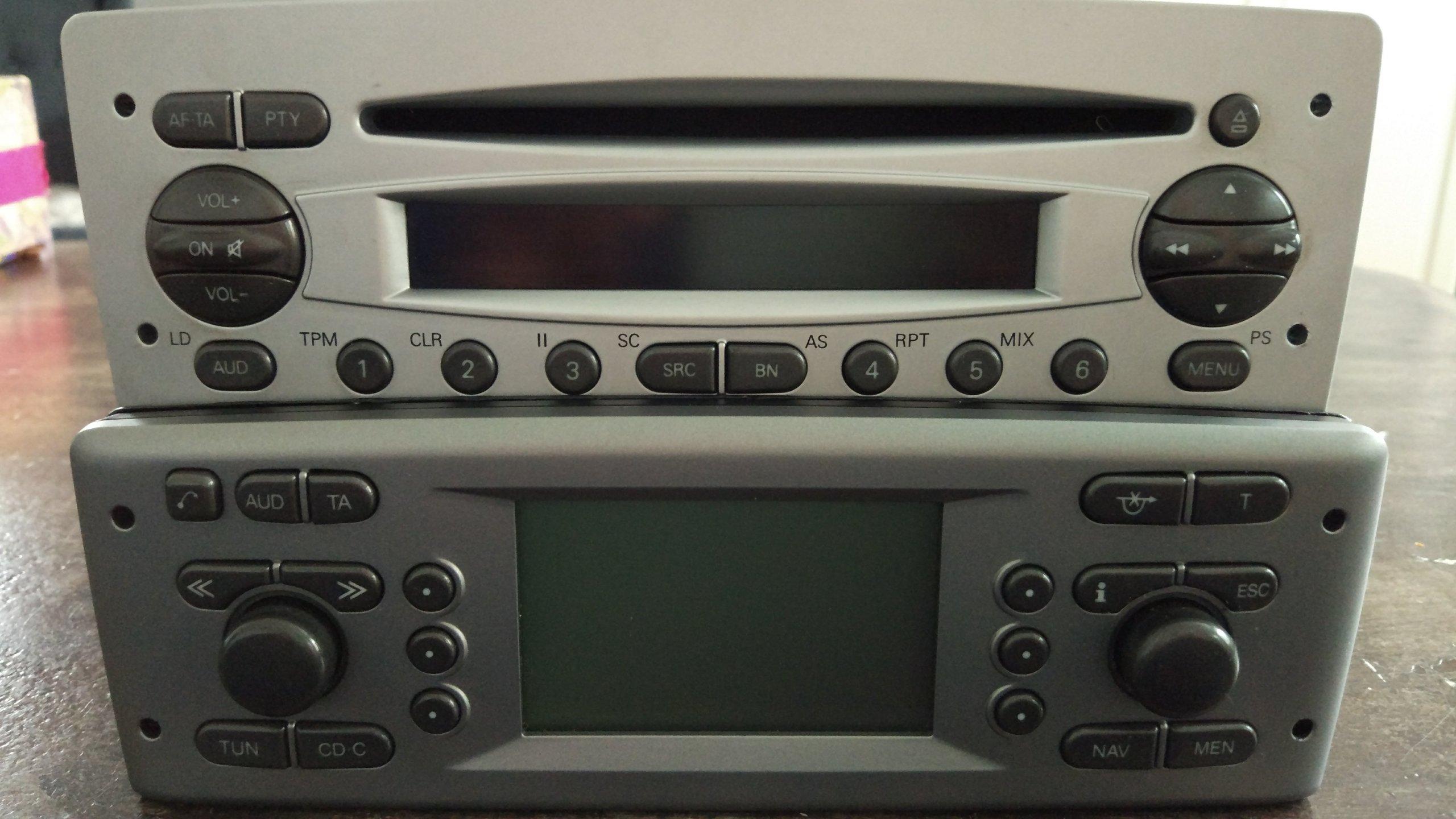 Radio Alfa Romeo 156 GTA Blaupunkt TravelPilot nav