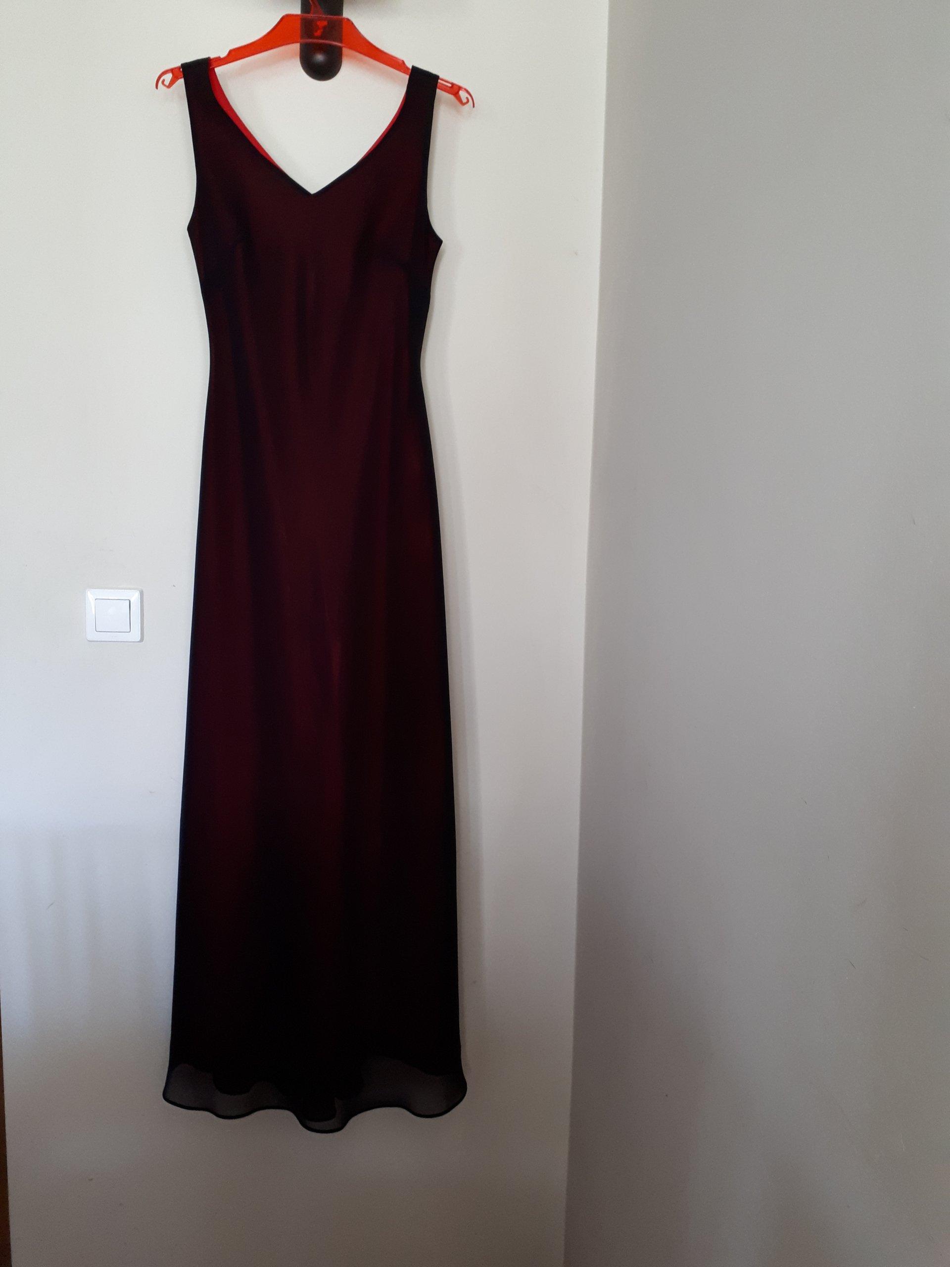 fb4ff2bf35 Sukienka wieczorowa elegancka 36 plus szal - 7341521642 - oficjalne ...