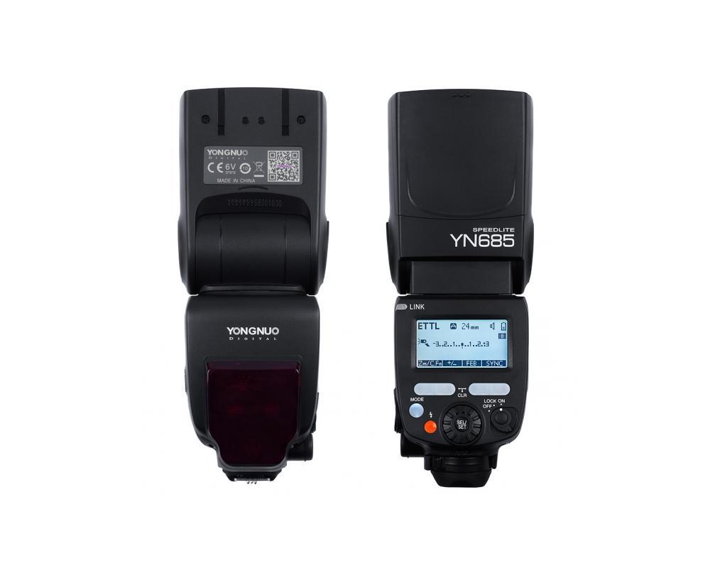 Lampa Yongnuo Yn 685 Nikon D3300 D3200 D70 Ttl Hss