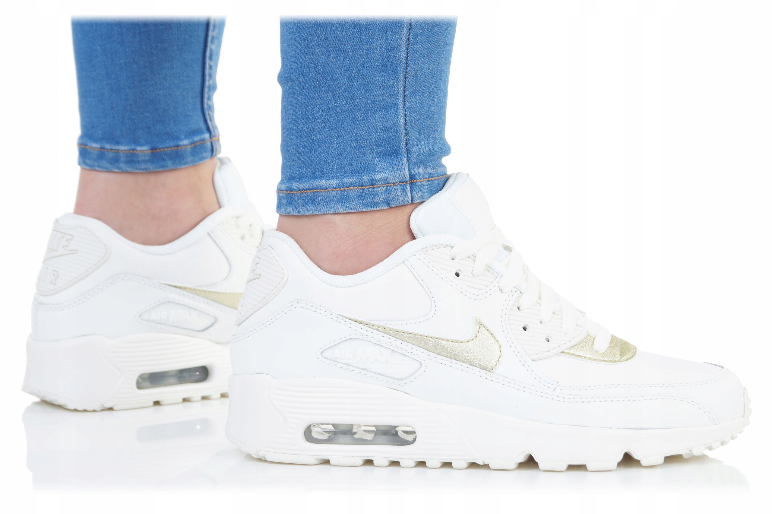 low priced 294d7 1704e BUTY NIKE DAMSKIE AIR MAX 90 LTR (GS) 833376-103