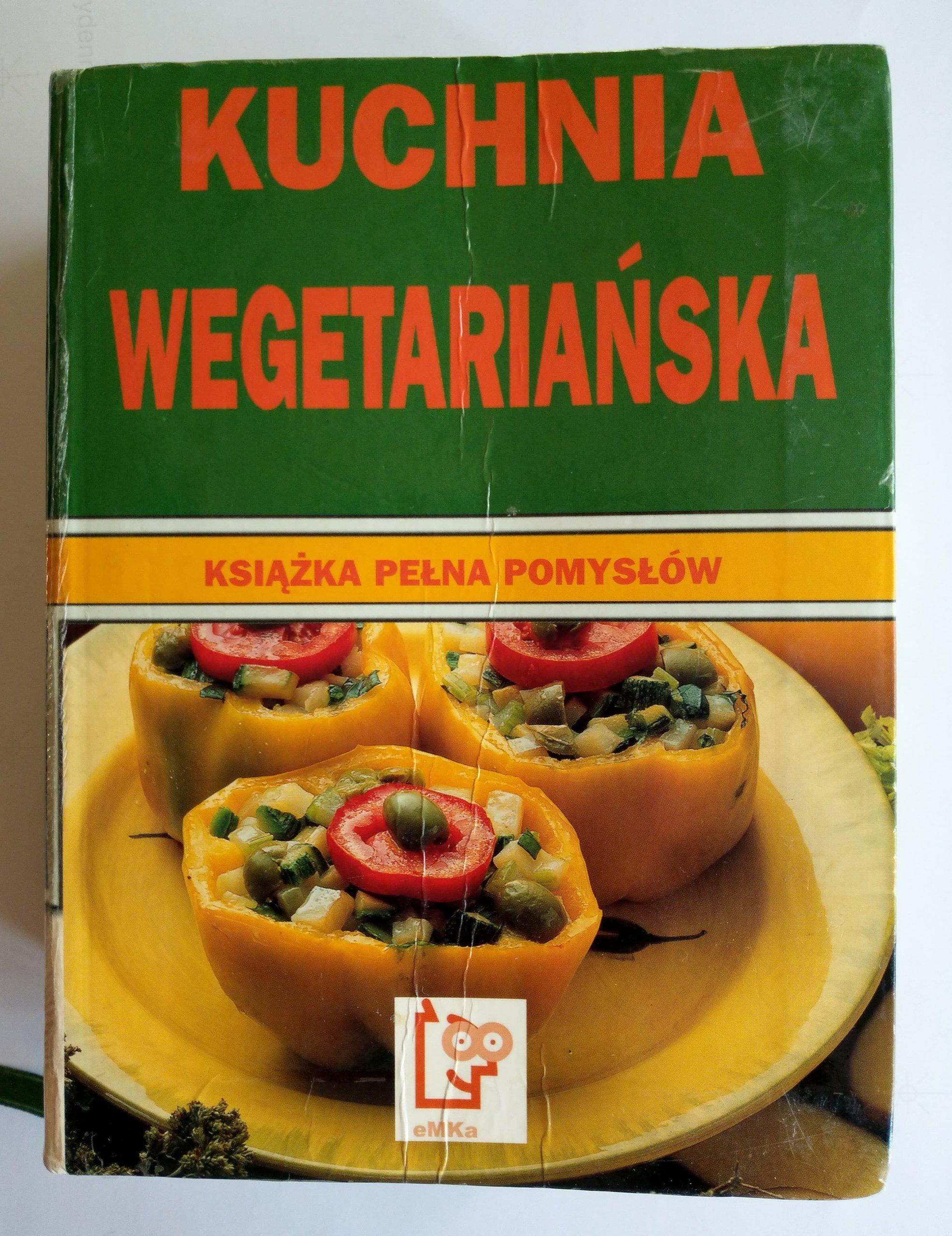 Kuchnia Wegetariańska Książka Pełna Pomysłów 7277590893