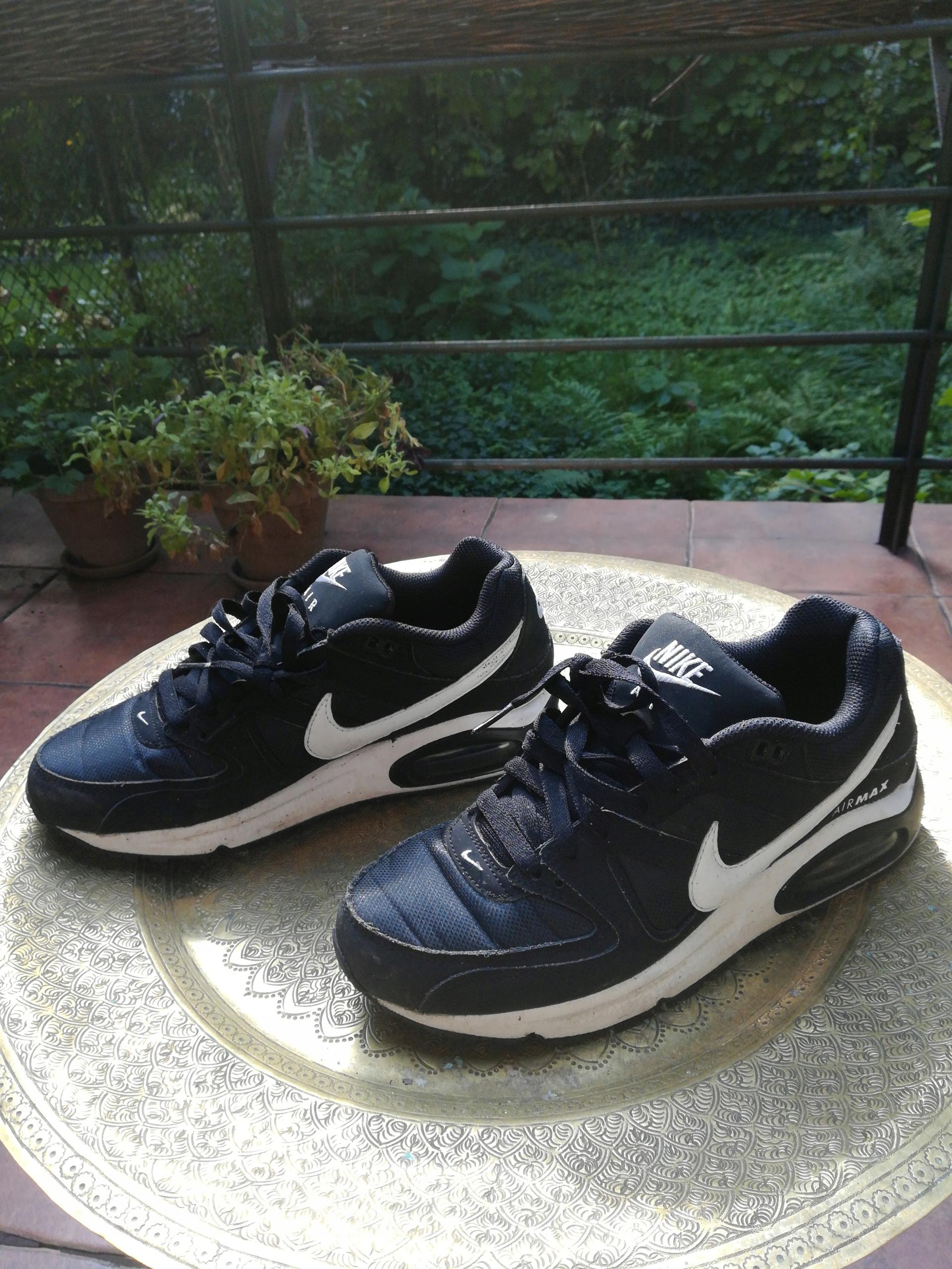 58f1adaa6 Fajne buty nike airmax air max czarne-białe 40, 5 - 7511649719 ...