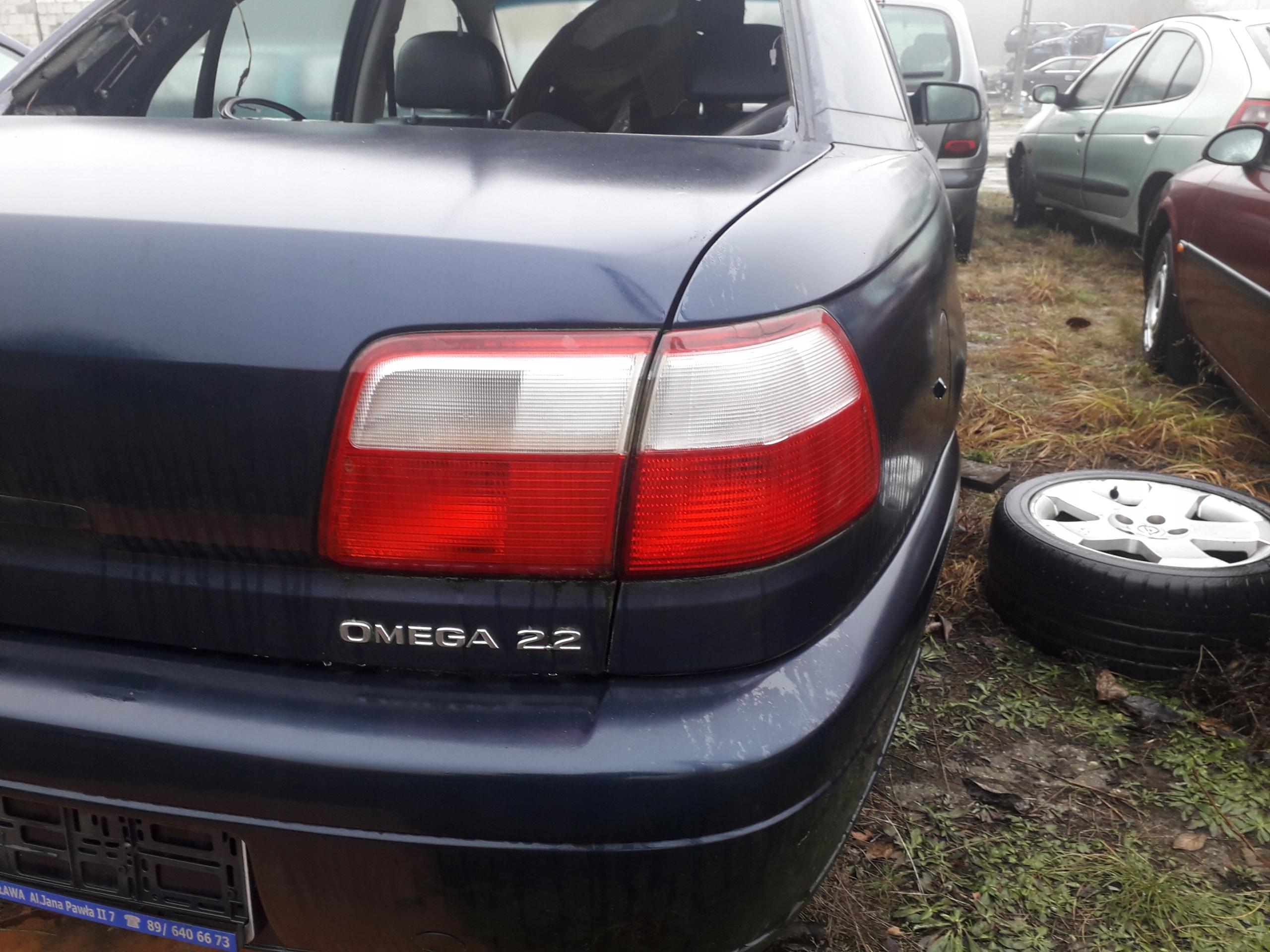 Omega B Fl Lampa Tył Idealna Org Opel 7706767043