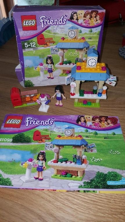 Lego Friends 41098 Turystyczny Kiosk Emmy 7715397762 Oficjalne