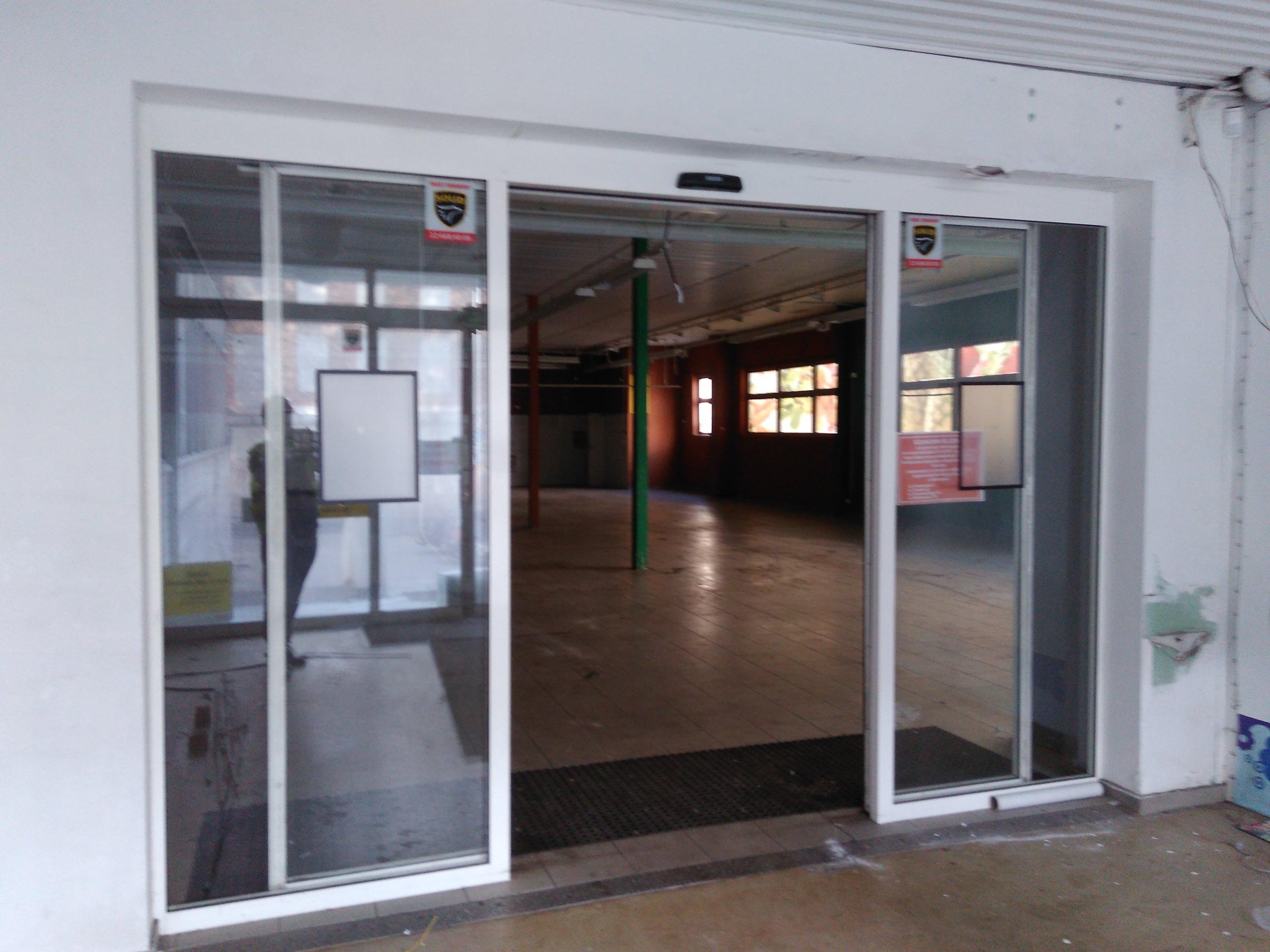 Ogromny drzwi automatyczne przesuwne w Oficjalnym Archiwum Allegro PQ59