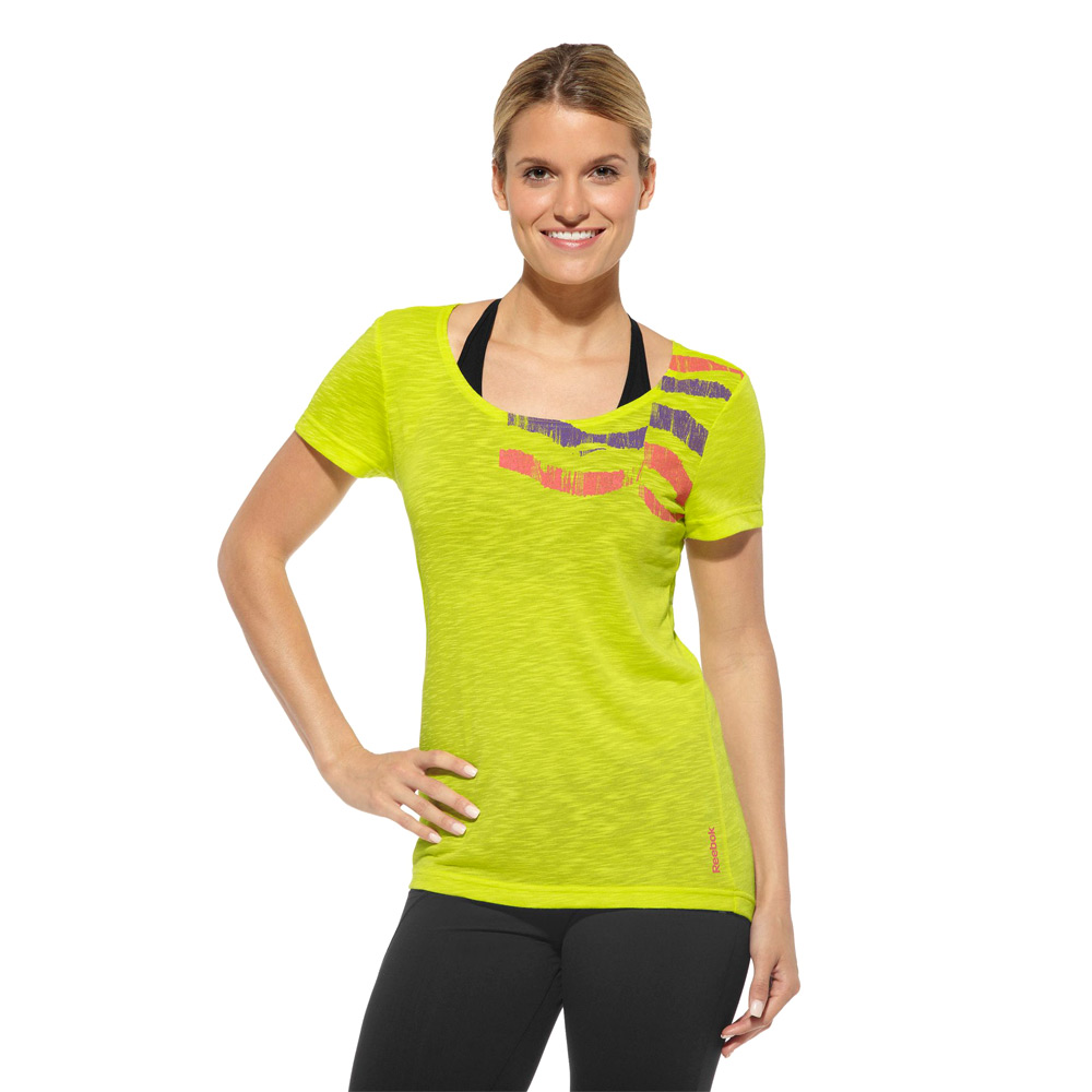 203525c6799621 Koszulka REEBOK damska na siłownię fitness XS - 7274567911 ...