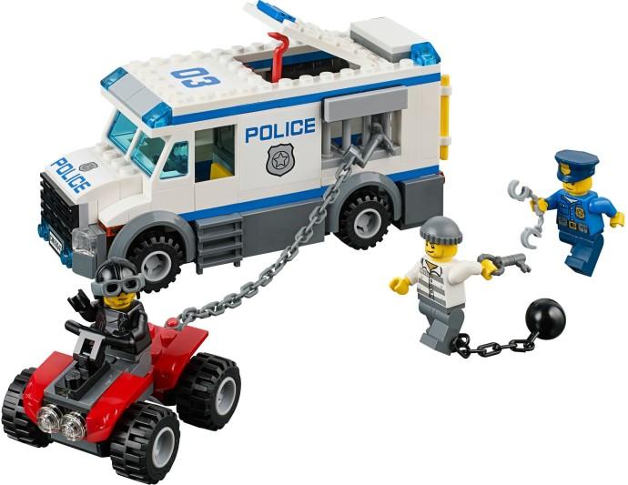 Lego City Policja Konwój Furgonetka 60043 7247266068 Oficjalne