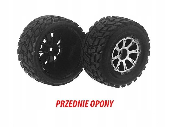 Przednie Opony Koła Front Tire Wl Toys A969-01