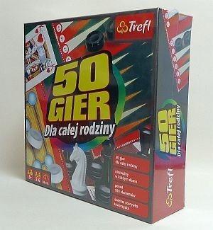 Kalejdoskop 50 gier TREFL /Nieprzypisany