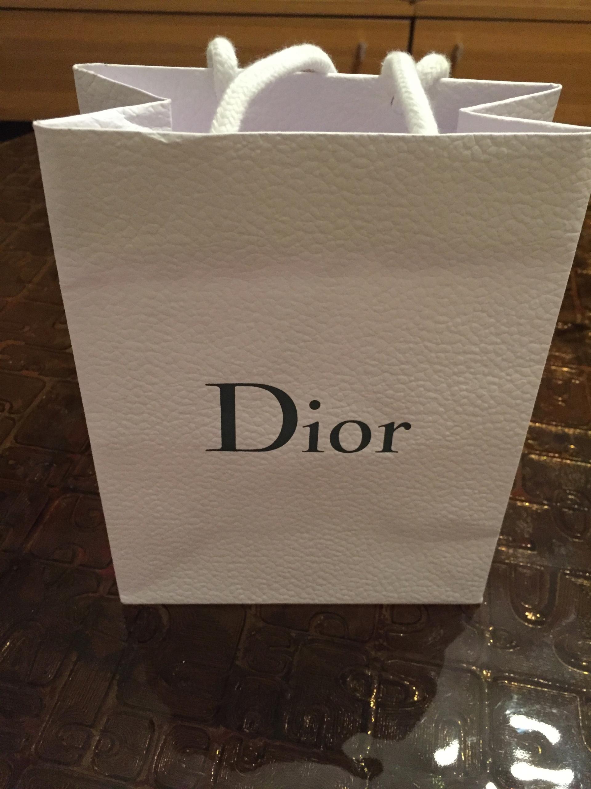 76d1223893013 Dior oryginalna torebka prezentowa mała - 7594919652 - oficjalne ...