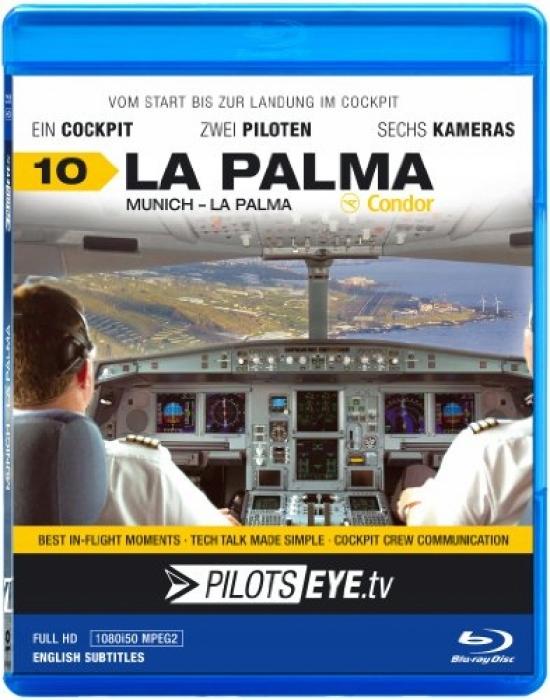 PilotsEYE.tv | Munich - LA PALMA || Blu-ray Disc |