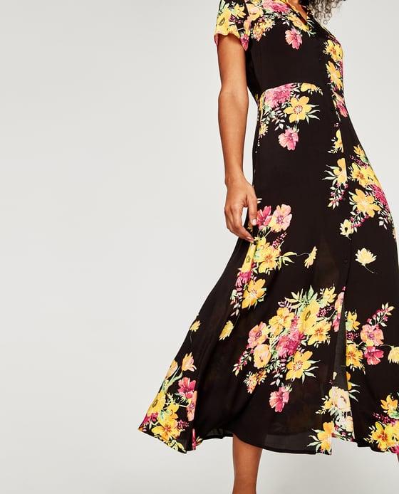 a7f6a2833b Piękna zwiewna sukienka ZARA KWIATY r. XS - 7336033746 - oficjalne archiwum  allegro