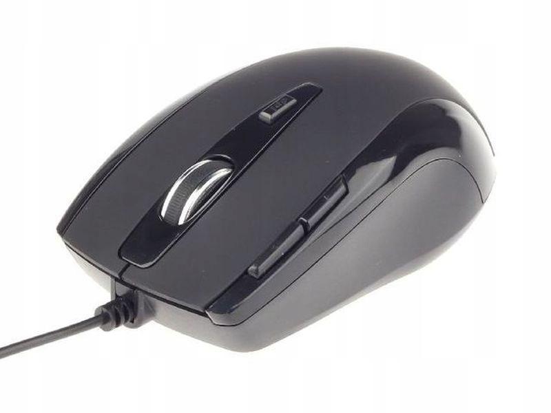 Gembird mysz G-Laser USB, 2400 DPI, czarna