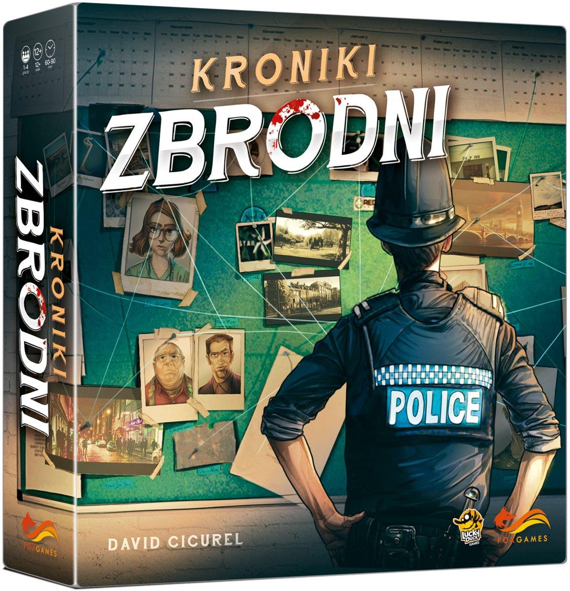 Kroniki Zbrodni Gra Foxgames Nowa Zafoliowana 7704766323