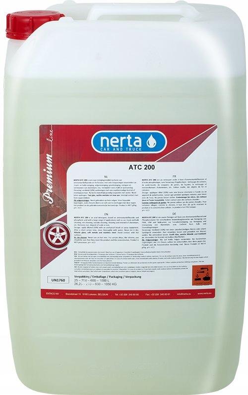 NERTA ATC 200 Kwas do aluminium! 5L MYCIE FELG!!!