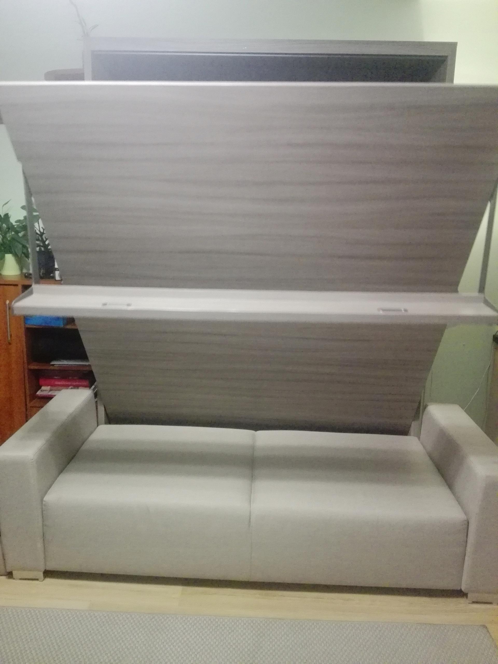 łóżko Chowane W Szafie Z Sofą 7753440810 Oficjalne