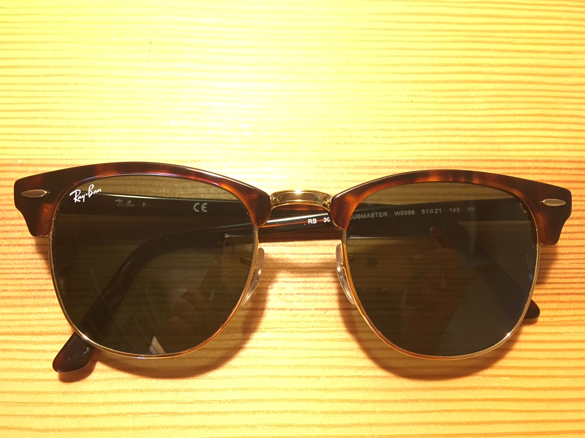 6217660112a3 Okulary Ray-Ban CLUBMASTER RB3016 W0366 990 58 - 7393798473 ...