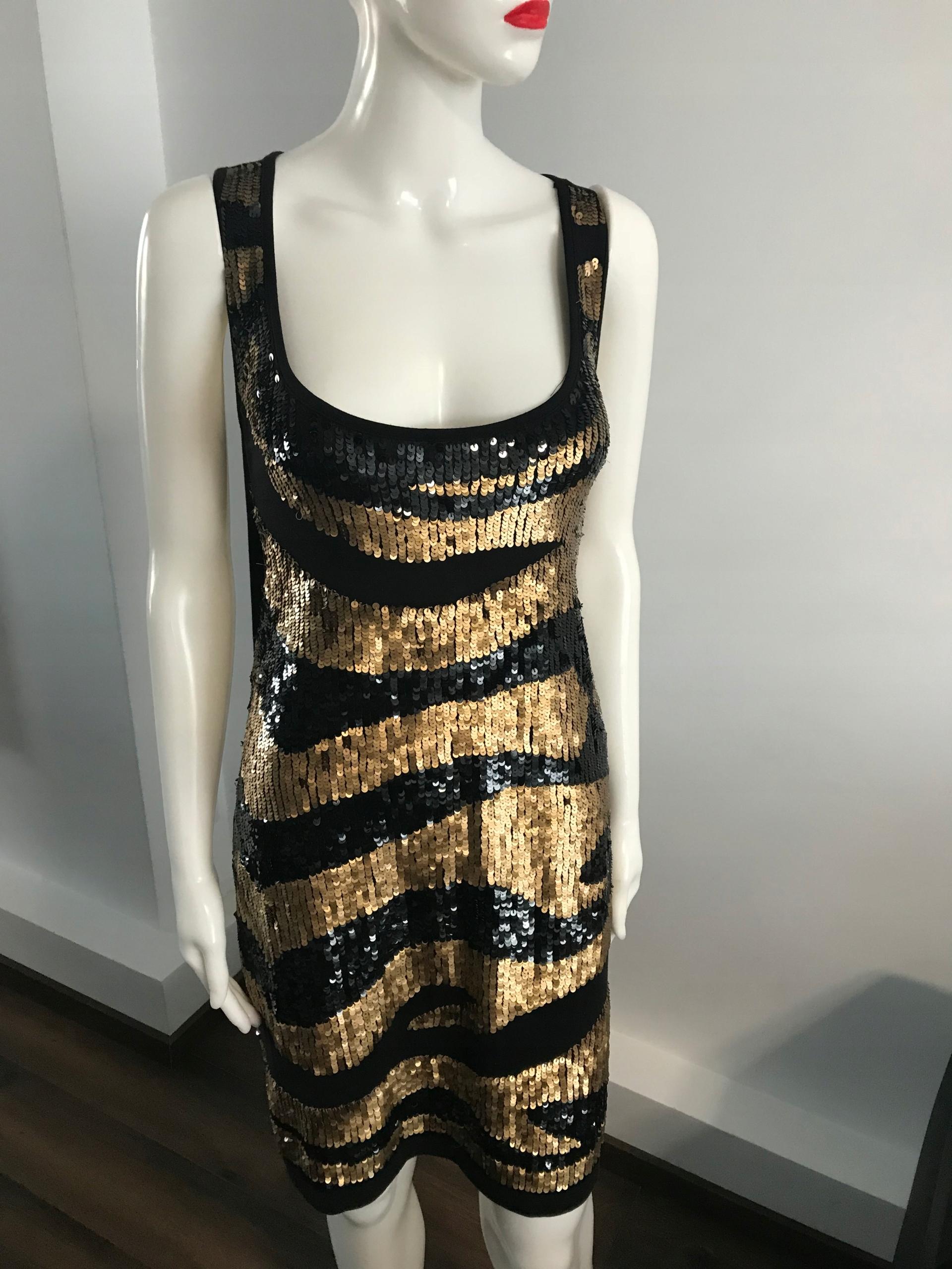 7b2df6f6da sukienka Next cekiny Zlote bokserka 40 sylwester - 7709121836 ...