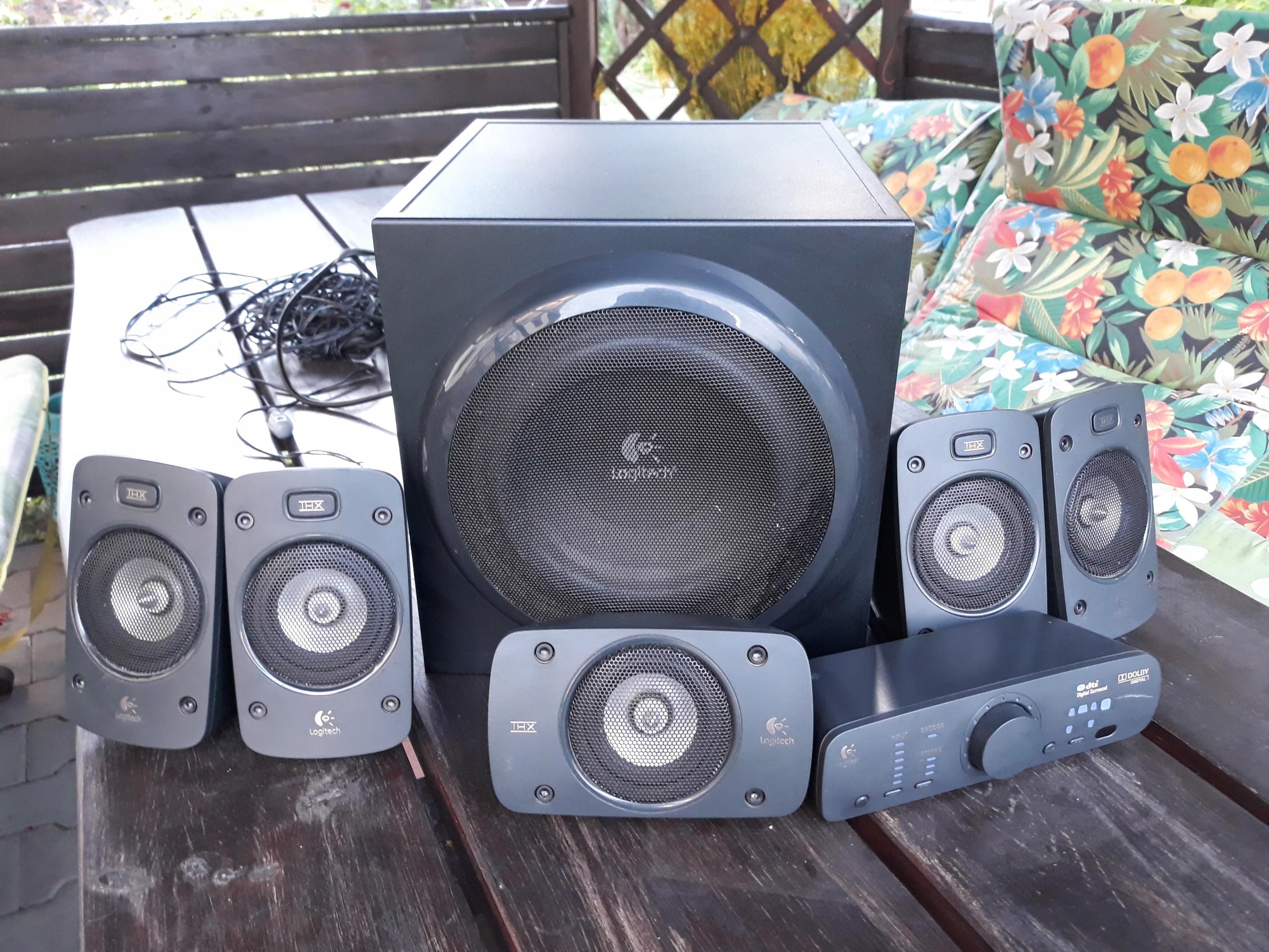 Głośniki Logitech Z-906