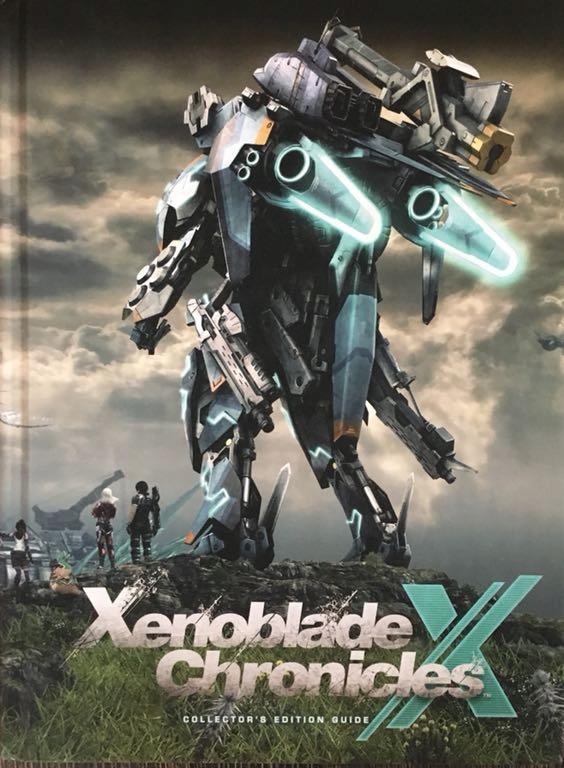 Xenoblade Chronicles X. Poradnik Książka ENG