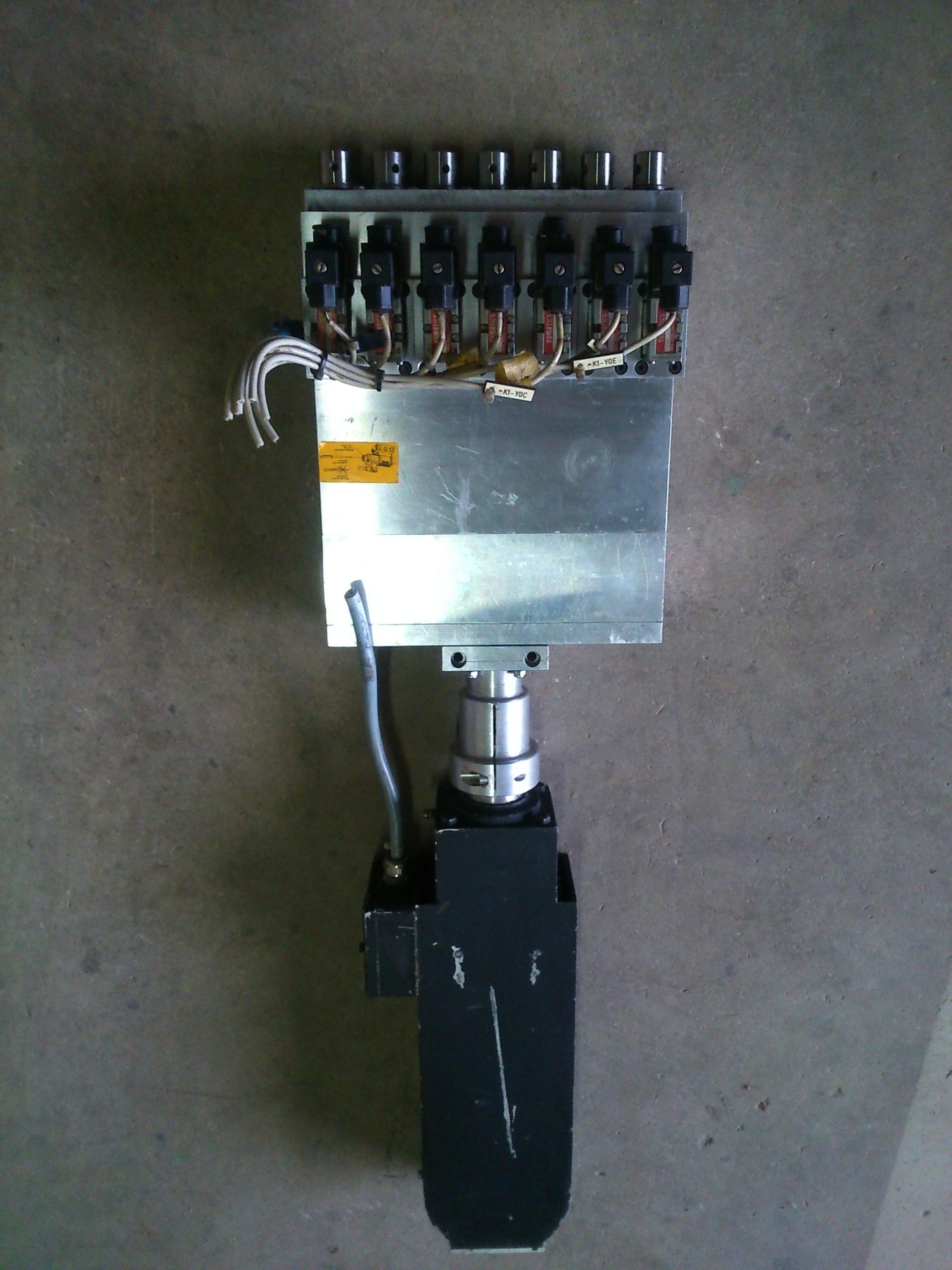 Ogromnie Głowica wiertarska wielowrzecionowa CNC z silnikie - 7351502256 JE86