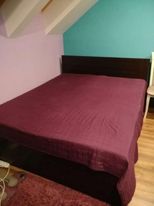 łóżko Wenge Z Agata Meble Z Szufladami 160x200 7110155664