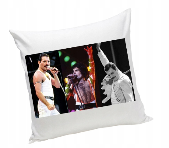 Freddie Mercury Queen FOTO PODUSZKA