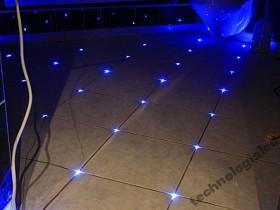 Oświetlenie Led Do Fug światłowód Terakoty 15 Szt