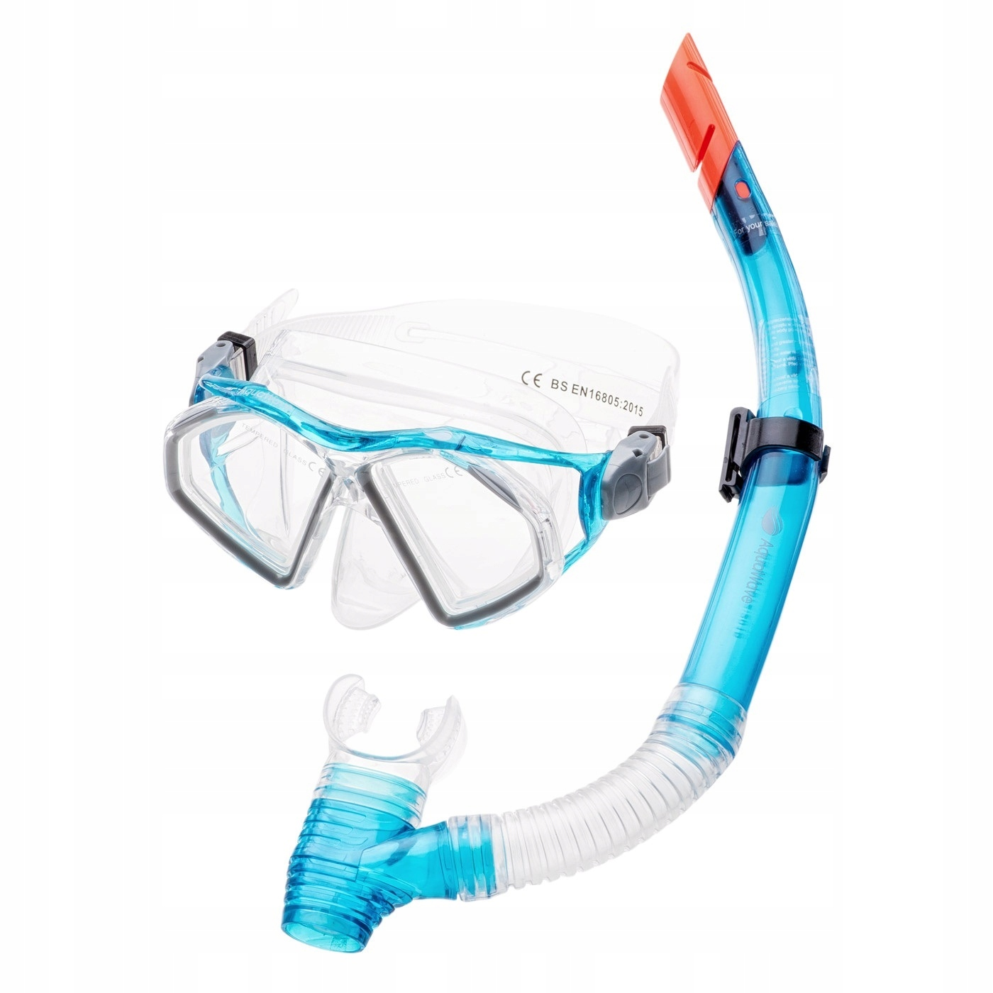 4162daa0be2d Rurka + Maska do pływania Aquawave Seal Set - 7389984322 - oficjalne ...