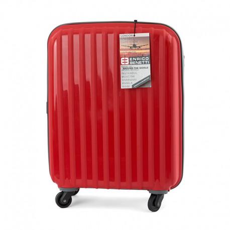 386adffdbc94a ENRICO BENETTI walizka podręczna RYANAIR 55x40x20 - 6606059330 ...