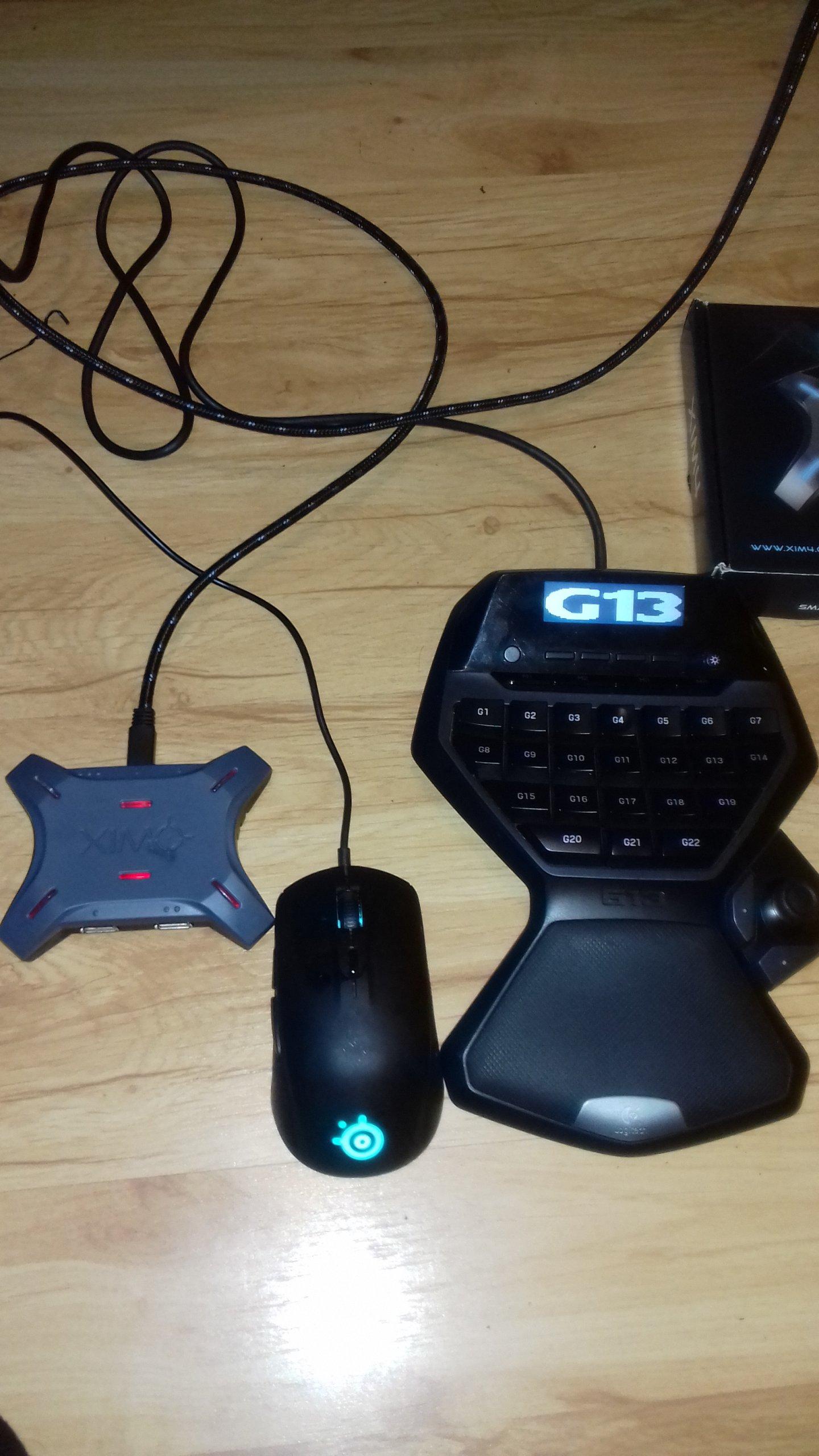XIM 4 - PS4, PS3, Xbox One, Xbox360 - Zestaw M+K