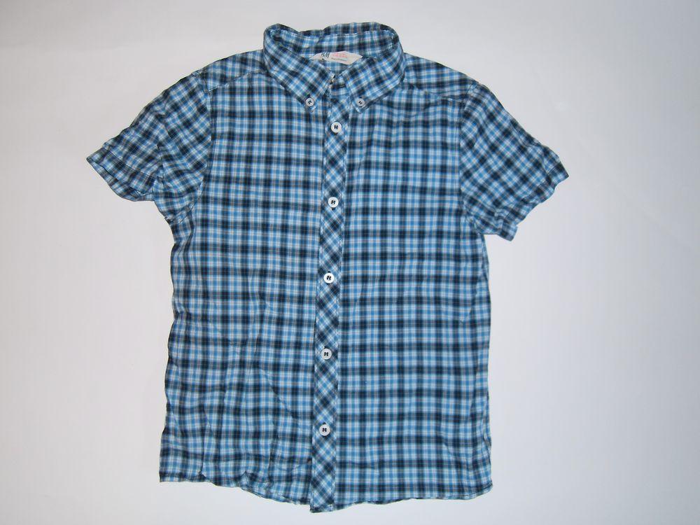6738bd4c7c H M fajna koszula dla Smyka w roz. 128 - 7017135138 - oficjalne ...