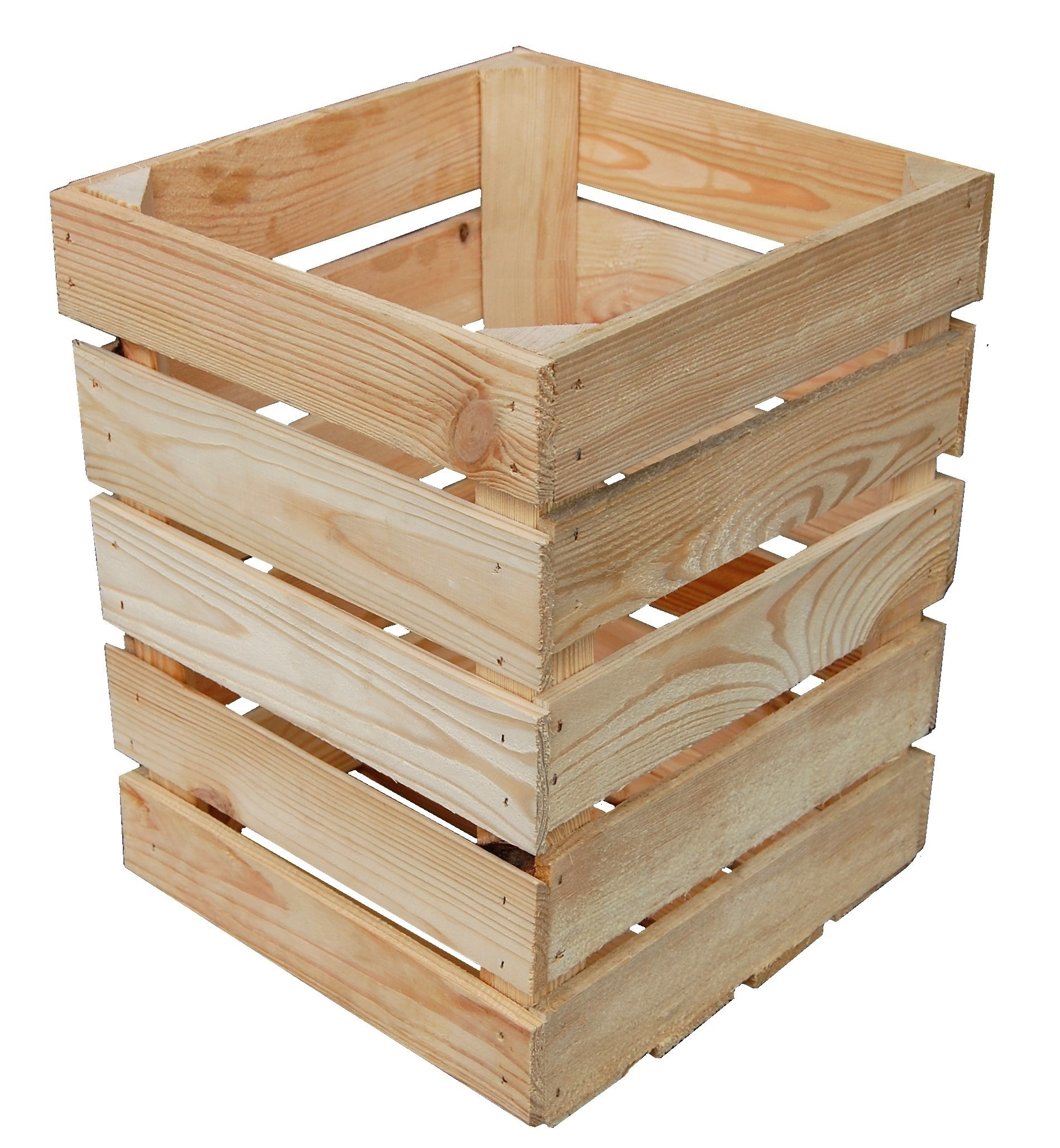 Ogromny Skrzynka Drewniana Dekoracyjny Kosz na Śmieci D2 - 7109869577 NI01
