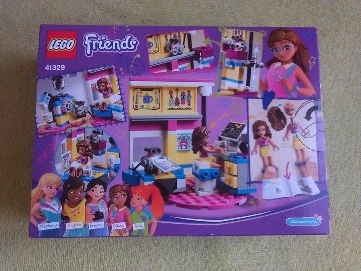 Pokoj Olivii Lego Friends