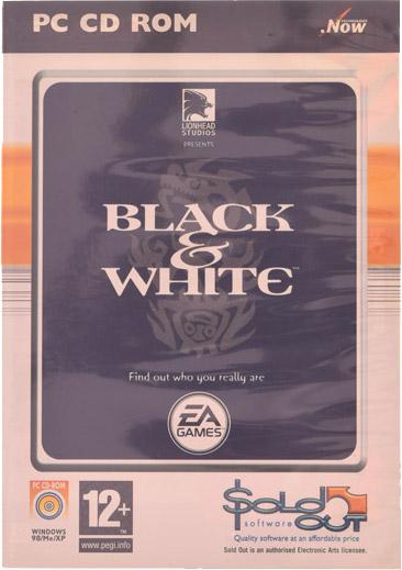 BLACK & WHITE I 1   PC ENG CDkingpl
