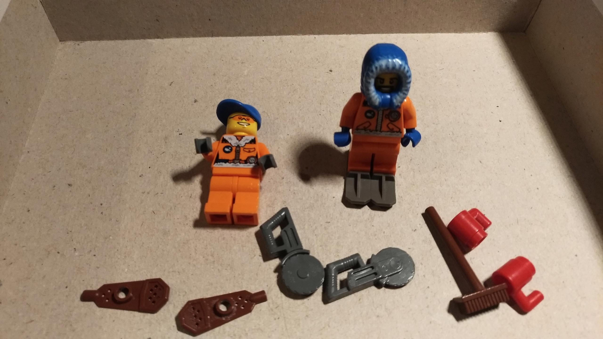 173 Lego Ludzik Arktyka Akcesoria Zestaw 7653127768 Oficjalne