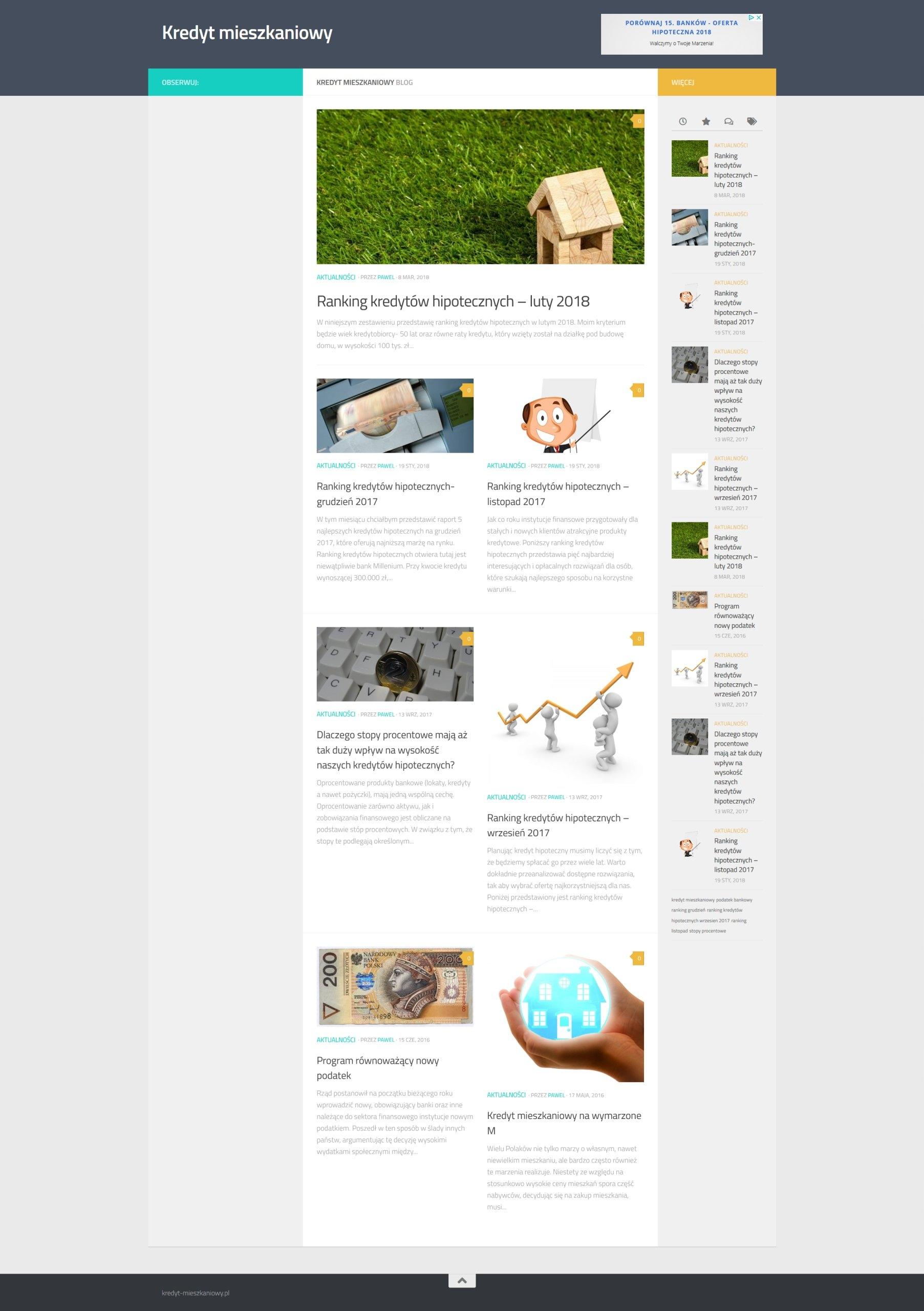 kredyt-mieszkaniowy.pl inne portale finansowe