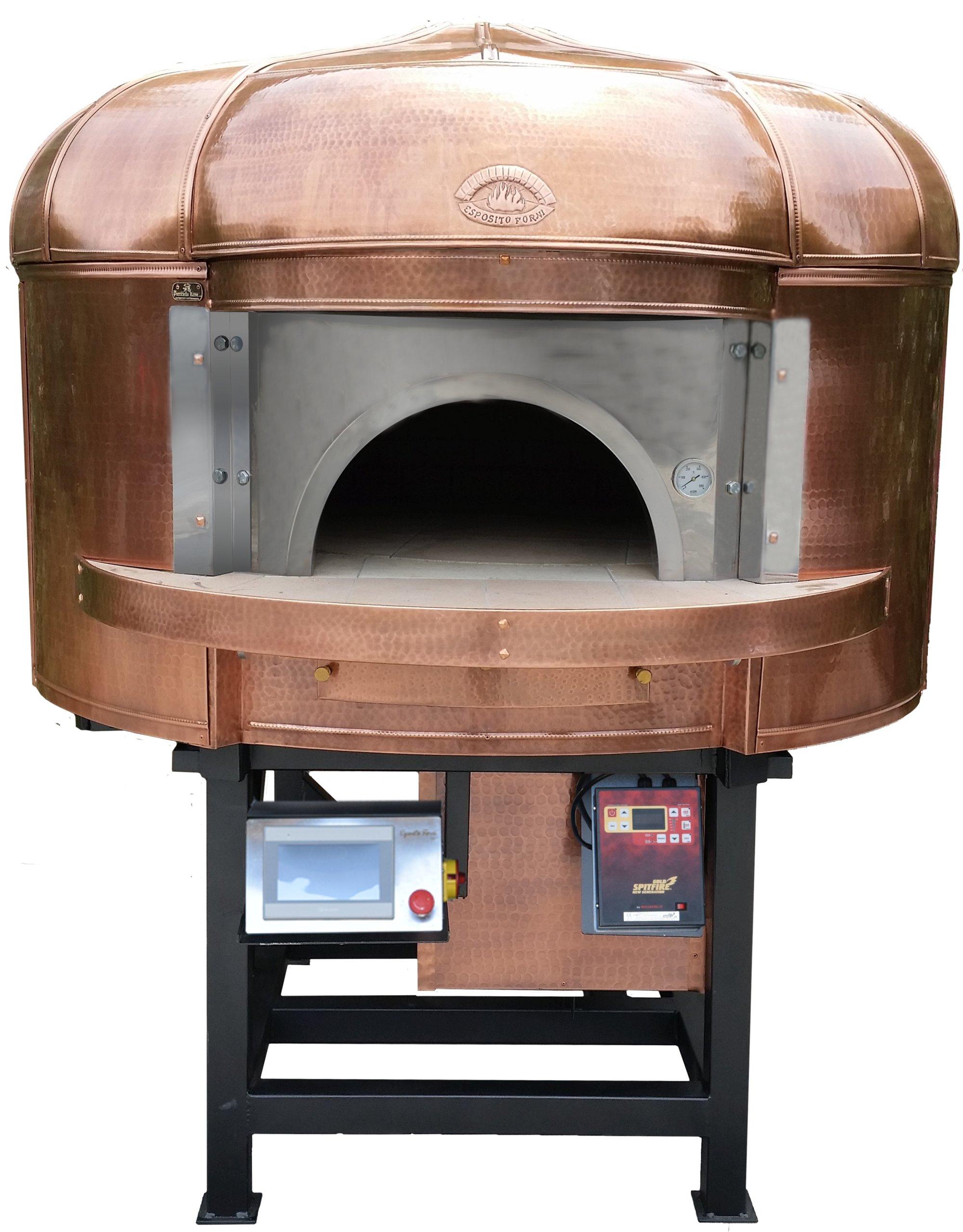 Super Piec do pizzy i chleba miedź 140 drewno/gaz - 7013681876 LB14